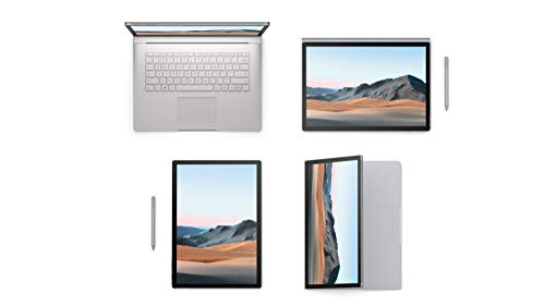 Microsoft Surface Book 3, 15 Zoll 2-in-1 Laptop (Intel Core i7, 32GB RAM, 1TB SSD, Win 10 Home) + Surface Pen Platin Grau