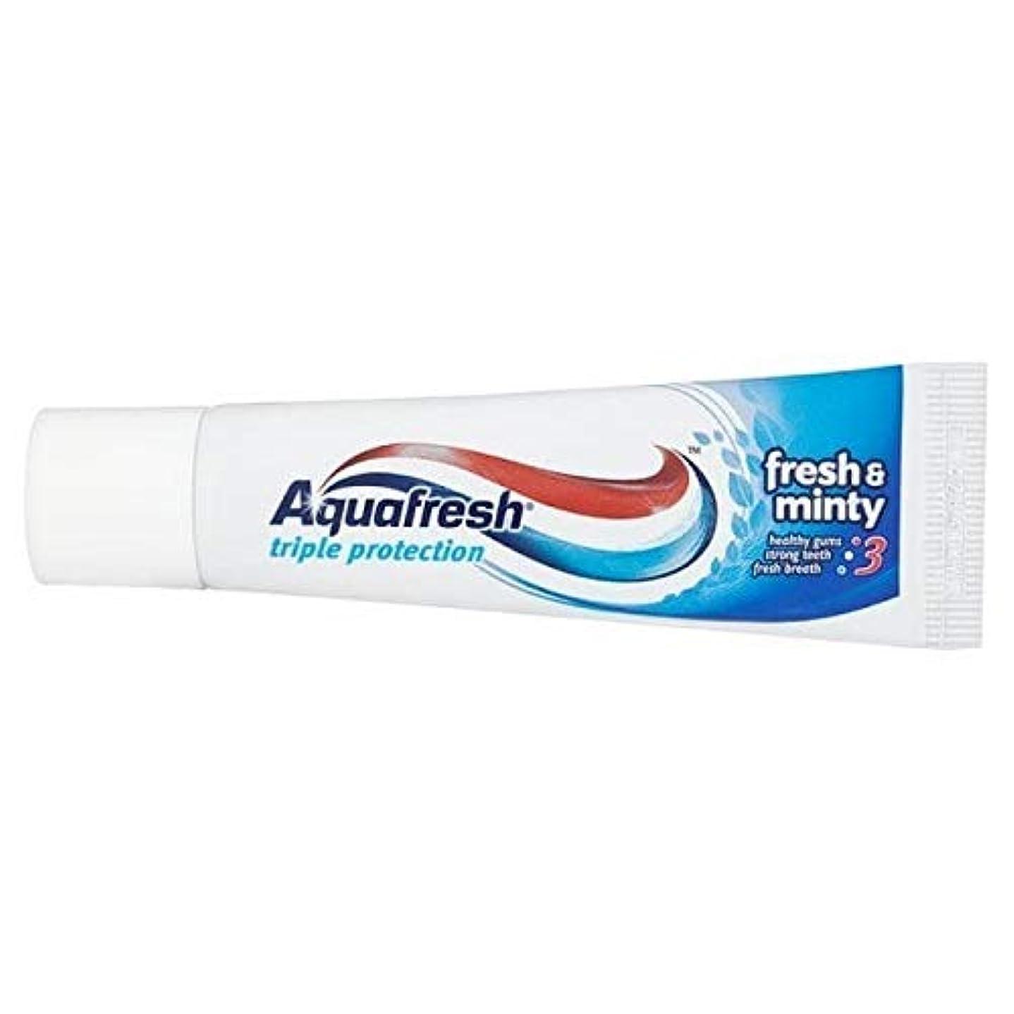 先行する慣れるポンペイ[Aquafresh ] アクアフレッシュフレッシュ&ミントフッ化物歯磨き粉20ミリリットル - Aquafresh Fresh & Minty Fluoride Toothpaste 20ml [並行輸入品]