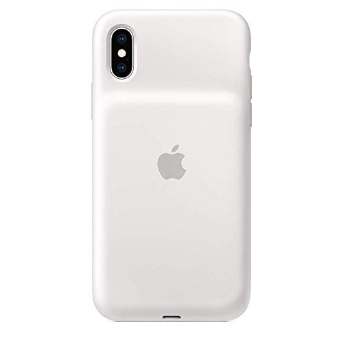 Apple Smart Battery Case for iPhone XS - White (Renewed)