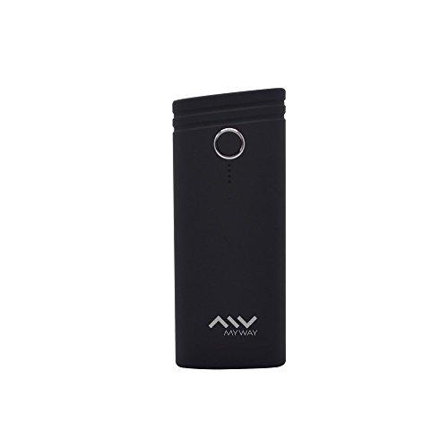 My Way MWCHP0090 - Batería Externa (5000 mAh) Color Negro