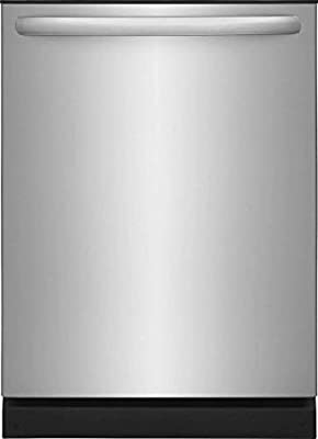 """Frigidaire FFID2426TS 24"""" Built In Fully Integrated Dishwasher with 4 Wash Cycles, in Stainless Steel"""