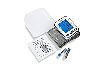 Automatic Blood Pressure Monitor Wrist Cuff Machine, Large Digital Screen, Easy to Use, Batteries Included, SEJOY BSP-22 Series …