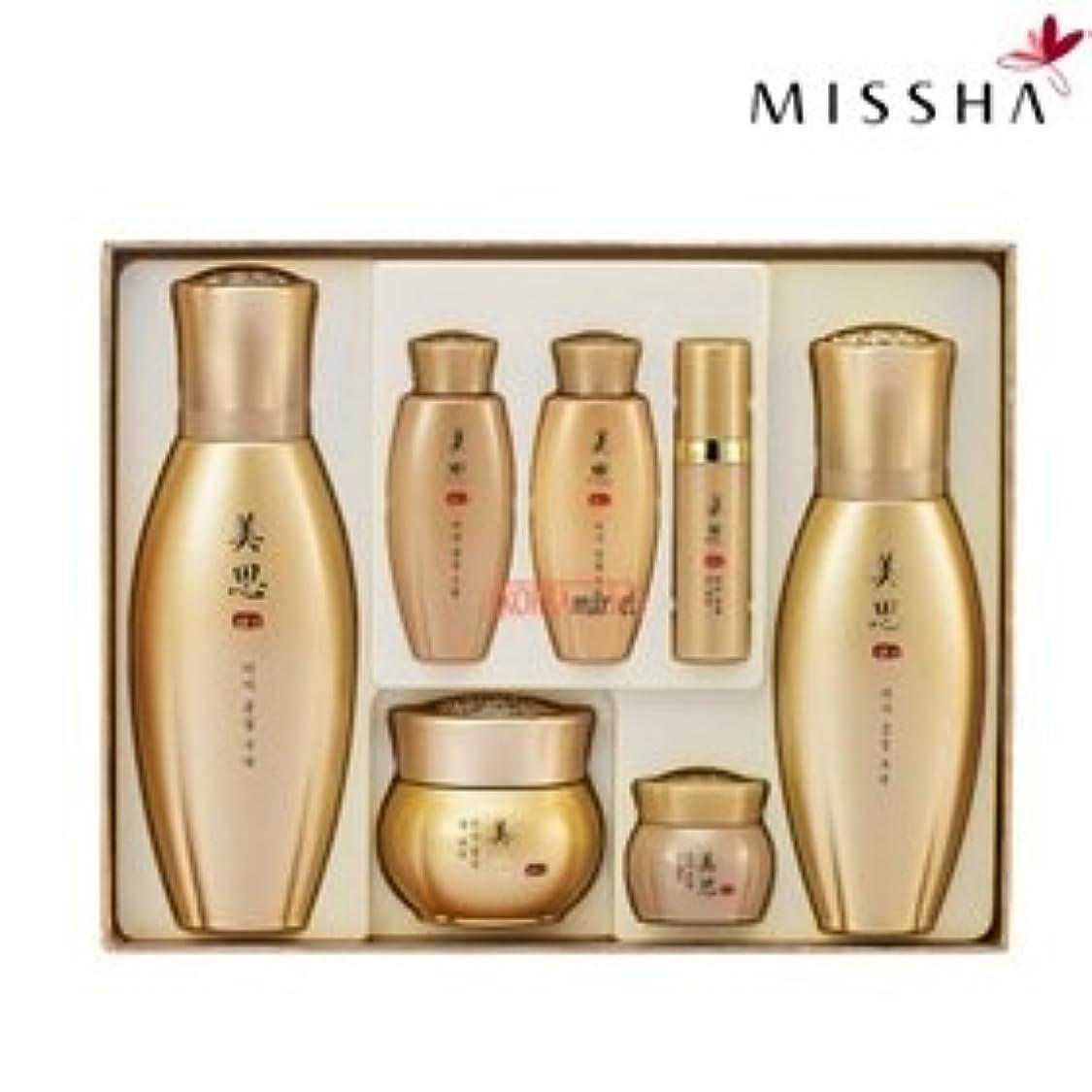 賞賛する宅配便現象MISSHA(ミシャ)97種漢方成分配合美思 金雪(クムソル)3種企画セット 海外直送品