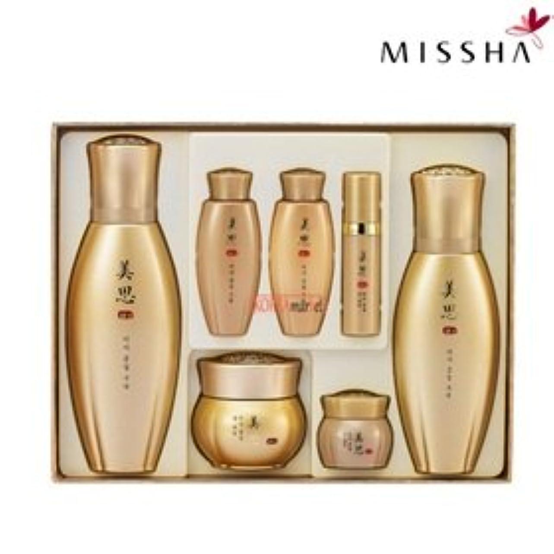 事前重要な手のひらMISSHA(ミシャ)97種漢方成分配合美思 金雪(クムソル)3種企画セット 海外直送品