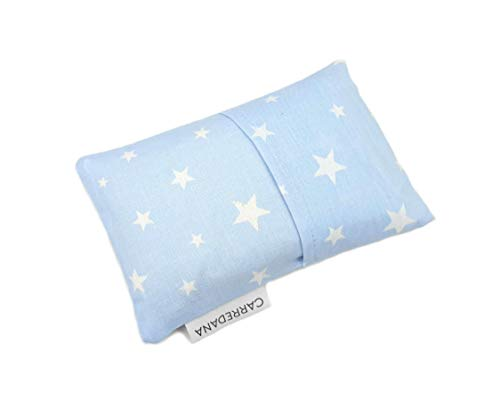 Saco térmico anti-cólicos bebé.Especial recién nacido 17 x 10cm (Azul estrellas)