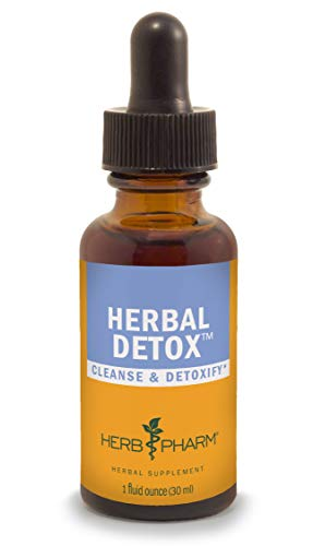 Herb Pharm Liquid Herbal Detox Formula for Cleansing and Detoxification - 1 Ounce