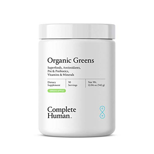 Complete Human   Organic Greens   Superfoods   Anitoxidants   Probiotics   All Natural   Dietary Supplement   Digestive Enzymes