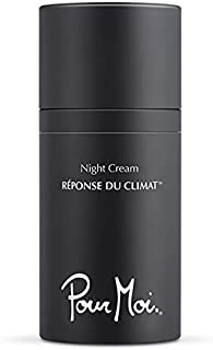 Pour Moi Night Cream | Anti-Aging Night Cream for All Skin Types feat. Squalane, Lecithin, Shea Butter to Promote Youthful Skin