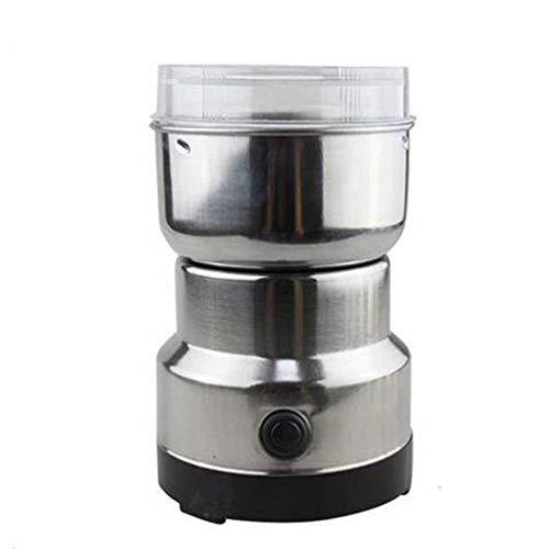 WSGLZ Kleine Fleischwolf Kornmühle, Schleifmaschine, Multifunktions-Smash-Maschine Kaffeebohne Gewürze Elektrische Fräsmaschine Grinder