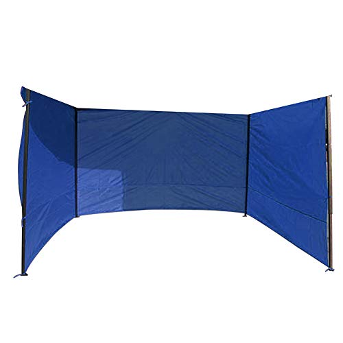 9.8ft/3M Garden Gazebo Side Panels Replacement with Side Windows, Fully Waterproof, for Outdoor Camping Wedding Garden Party Anti-UV Oxford Cloth Panels without frame (29.5 * 6.5ft blue Side Panel)