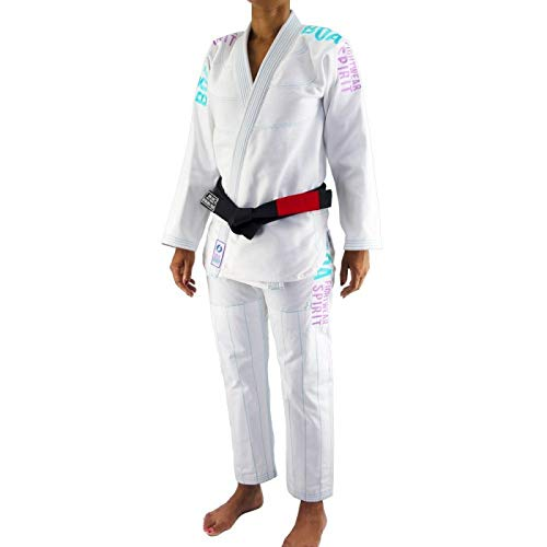 Bõa BJJ Gi Kimono Tudo Bem V2 Mujer - Blanco - Blanco, F0