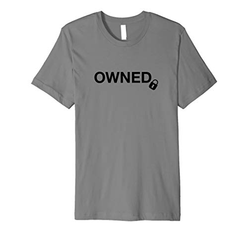 Owned - Cuckold and Swinger Lifestyle - Fitted T-Shirt
