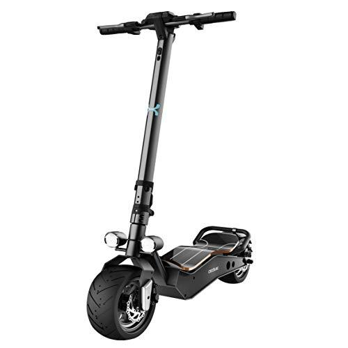 Cecotec Elektroroller Bongo Z-Serie, maximale Leistung 1100 W, austauschbarer Akku, unbegrenzte Autonomie bis zu 40 km, Hinterradantrieb, 12-Zoll-Anti-Blowout-Räder
