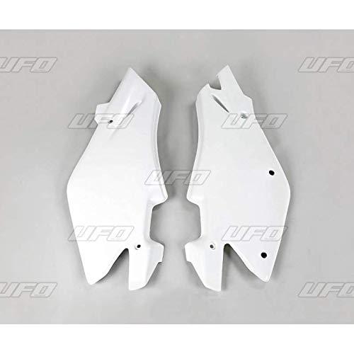 UFO - Plaques Latérales Blanc Compatible Husqvarna 125 250 Cr Wr 2005