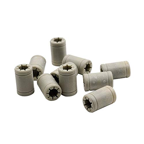 Teniendo 50pcs plástico LM8UU 8 mm Bolas lineales VS RJ4JP-01-08 RJ4JP 01 08 Casquillo for Anet Anet cojinete for Prusa I3 3D Printe