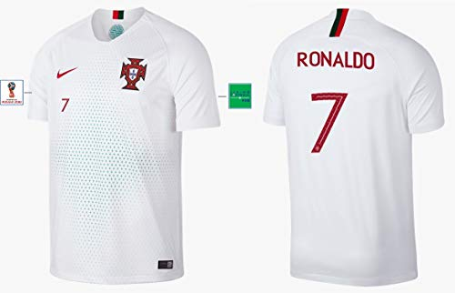 Portugal Trikot Herren WM 2018 Away - Ronaldo 7 (L)