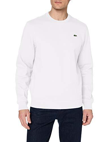 Lacoste SH1505 Sudadera, Blanc/Blanc, XL para Hombre