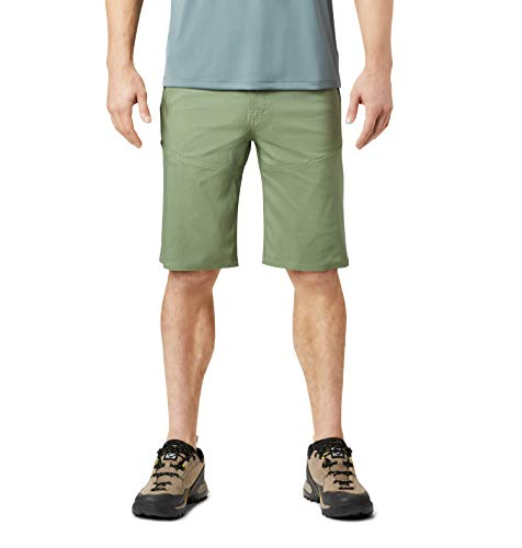 Mountain Hardwear Men's AP Short for Hiking, Climbing, and Everyday, Lightweight, Versatile, Comfortable - Field - 32W x 11L