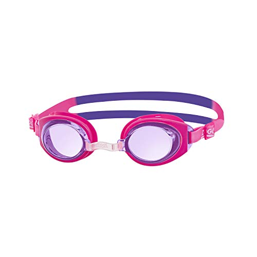 Zoggs Kinder Ripper Jnr Schwimmbrille, Pink, One Size