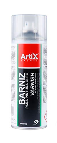 Spray para Bellas Artes Artix Paints (BARNIZ PARA PINTURA OLEO)