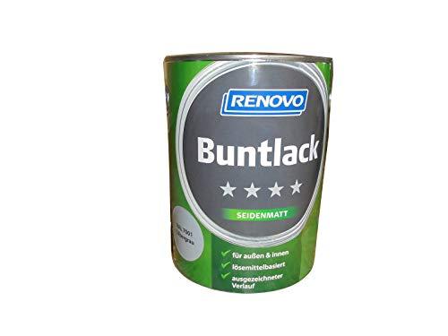 Renovo Buntlack Silbergrau, Seidenmatt 2,5L