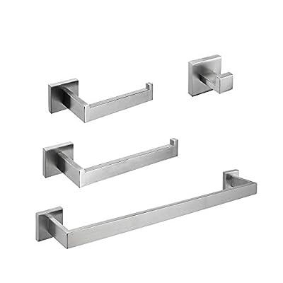 gotonovo Bathroom Hardware Set Accessories 4 Piece