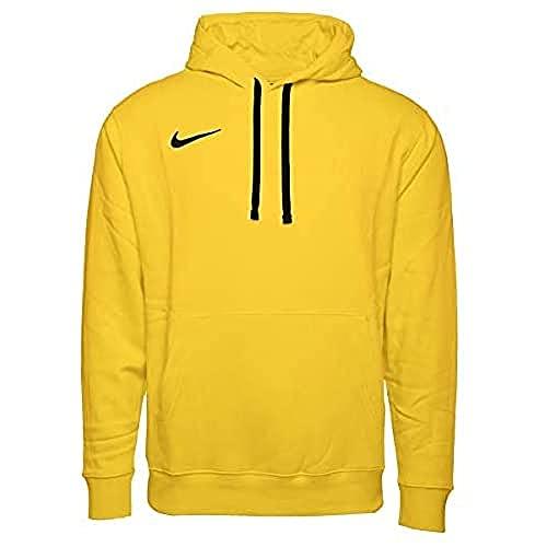Nike Felpa da Uomo con Cappuccio Giallo / Nero / Nero XL