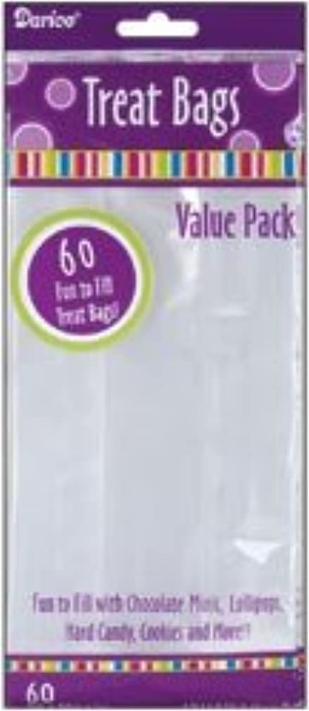 Bulk Buy: Darice Clear Treat Bags 4