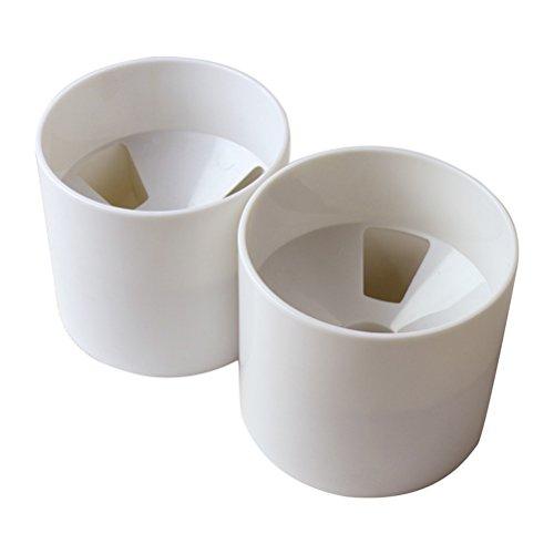 Winomo Golf Loch Putting Cup, 10,5 cm (4 Zoll), Weiß, 2 Stück