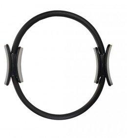 Deuser Pilates Ring, schwarz, ca. 38 cm