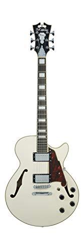Guitarra eléctrica D'Angelico de 12 cuerdas semihuecas, der
