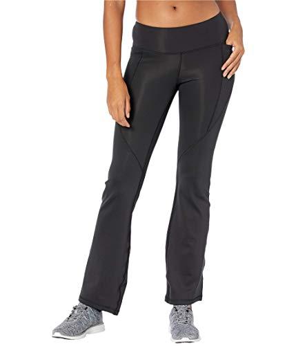 Reebok Workout Ready Bootcut Fitted Pants, Black, XL