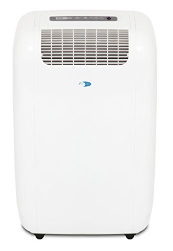 Whynter ARC-101CW Cool Size 10,000 BTU Portable Air Conditioner, Dehumidifier, Fan with Activated Carbon Filter and Storage Bag for Rooms up to 300 sq ft, Multi