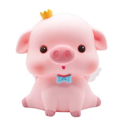 Huchas Linda Hucha higgy, PVC Pig Money Bank Personalidad Anti Caída Piggy Banks Coin Bank Ornamentos para niños Niños Niñas Caja de Monedas (Color : Sell Cute Pigs, tamaño : Medio)