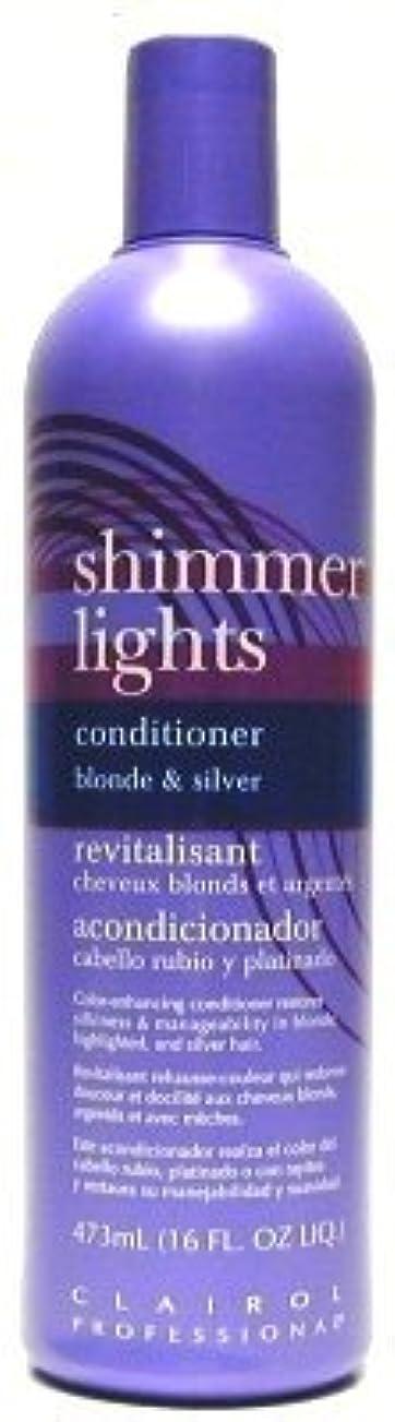 同等の炭水化物バンClairol Shi mmer Lights 473 ml Conditioner (Case of 6) (並行輸入品)