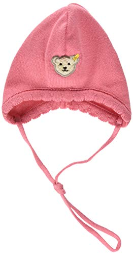 Steiff Baby-Mädchen Mütze, Pink (Tea Rose|Rose 2083), 41