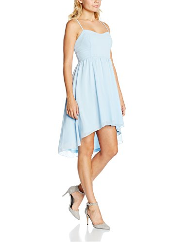 Intimuse Damen Kleid mit Spaghettiträgern, Blau (Eisblau 051), 40