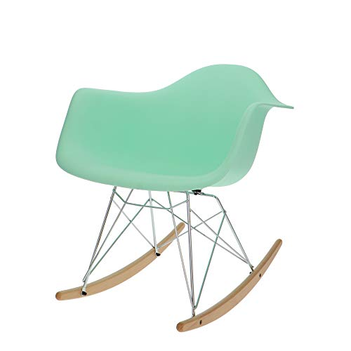 Popfurniture design schommelstoel RAR | beschikbaar in diverse kleuren | Geschikt voor kinderkamer, woonkamer, slaapkamer of ideaal als schommelstoel, verpleegstoel, verpleegstoel, schommelstoel, schommelstoelen, schommelstoel met sleevoor babyvoeding