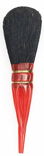 da Vinci 750-10 Double Quill Gilder Oval Shaped Mop, Black, Goat Hair, Size 10