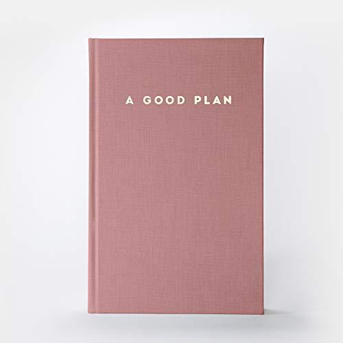 A Good Plan | ganzheitlicher Kalender für mehr Achtsamkeit und Selbstliebe | undatiertes Tagebuch und Planer Antique Pink