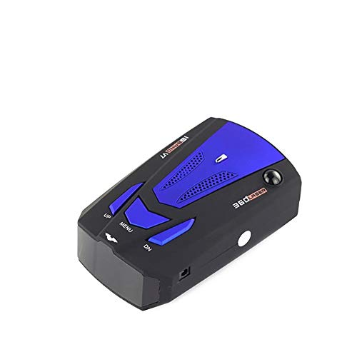 Read About HANJA VAL Anti-Radar Radar Detector 16 Band X K Ku Ka Laser LED Display 360 Degree Detect...