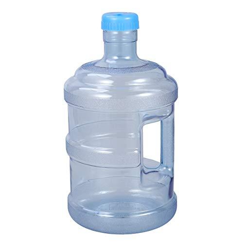 CLISPEED 5 Litri di Secchiello per Acqua Minerale Bottiglia di Acqua Pura Bottiglia Secchio con Manico