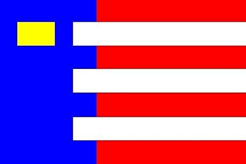 U24 vlag Baarle-Nassau bootvlag premium kwaliteit 150 x 250 cm