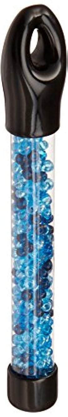 Hampton Art Glass Bead Tubes 24 Grams-6/0 Aqua Trans A.B. Mix