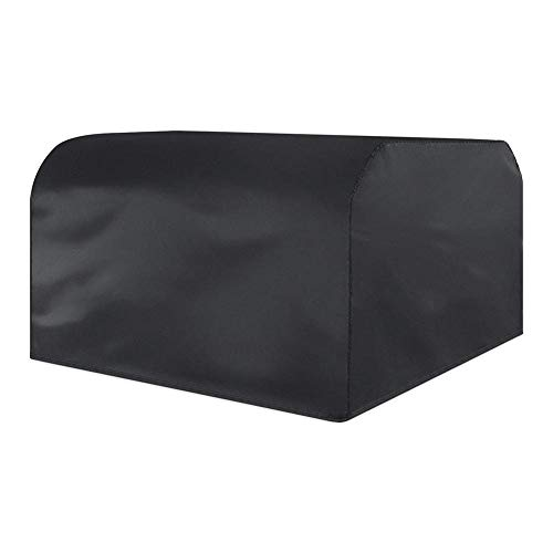 ZYF Garden Furniture Covers Rectangular Patio Set Cover For Table And Chairs Waterproof UV Protection Oxford Fabric Patio Furniture Covers (Color : Black, Size : 126x126x74cm)