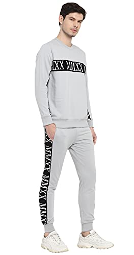 Alan Jones Clothing Cotton Athletic Gym Running Sports Track Suit For Men