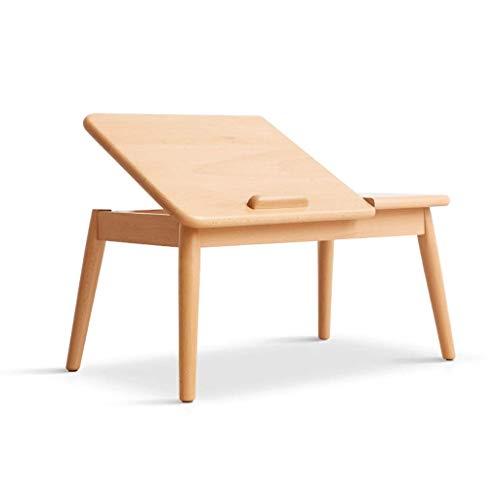HXCD Klappbarer Beistelltisch, klappbarer Couchtisch aus Walnuss, Kleiner Nachttisch, quadratische ,...
