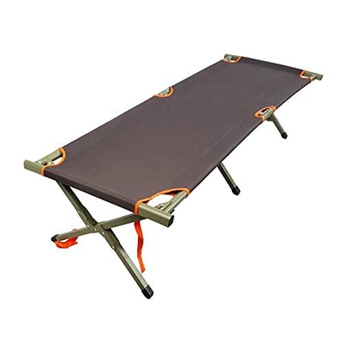 ZHANGYY Sillas de salón para Patio reclinable Plegable, Silla de Camping al Aire Libre Cama Plegable portátil Simple Almuerzo reclinable Peso 120 kg Duradero