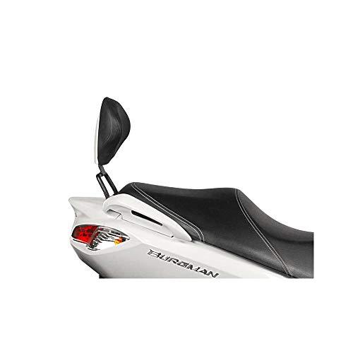 Shad S0BR17RV Kit Respaldo para Suzuki Burgman Uh 200, Negro
