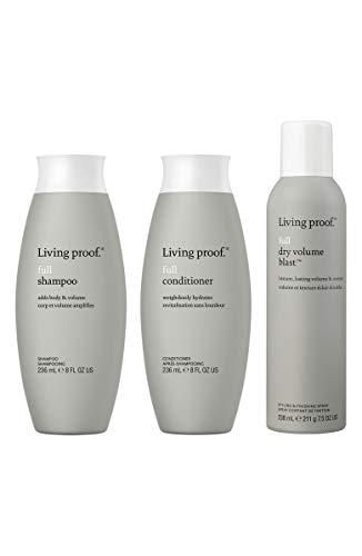 Kit Living Proof Full Shampoo 236ml, full conditioner 236ml, full dry volume blast 238ml
